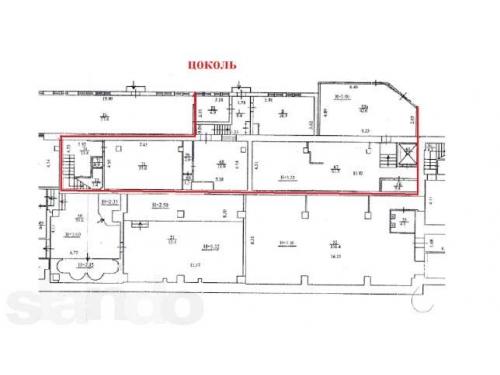 Аренда офиса для банка 1864 квм