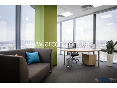 Коворкинг с видом на Днепр аренда с мебелью