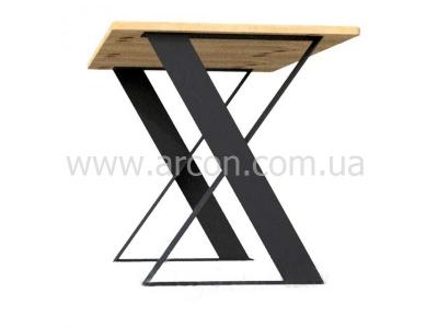 Офисный стол лофт из дерева фанеры