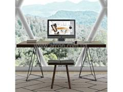 Изящные столы в стиле лофт серии Cristal Y