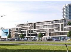 Бизнес центр Метрополис возле метро Оболонь